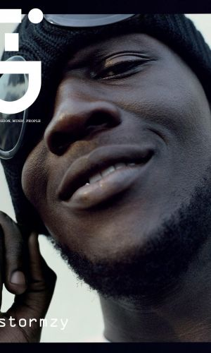 Stormzy wears CP Company on i-D cover
